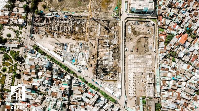 Cận cảnh dự án khu đất vàng ở Quận 4 của Sabeco HP có nguy cơ bị thu hồi - Ảnh 4.