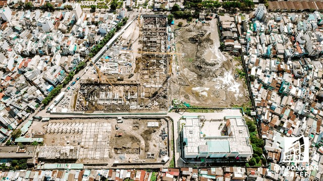 Cận cảnh dự án khu đất vàng ở Quận 4 của Sabeco HP có nguy cơ bị thu hồi - Ảnh 5.