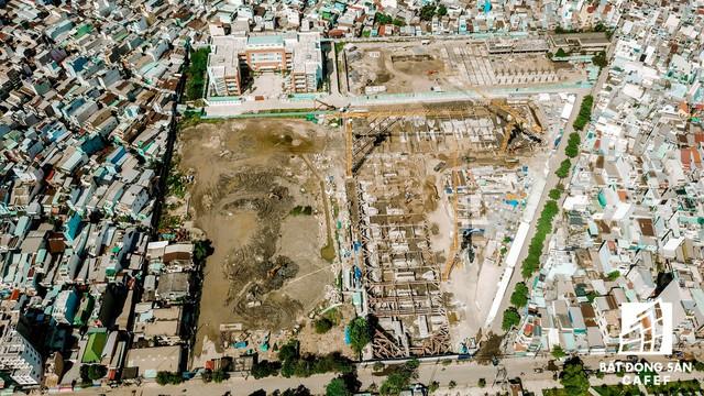 Cận cảnh dự án khu đất vàng ở Quận 4 của Sabeco HP có nguy cơ bị thu hồi - Ảnh 6.