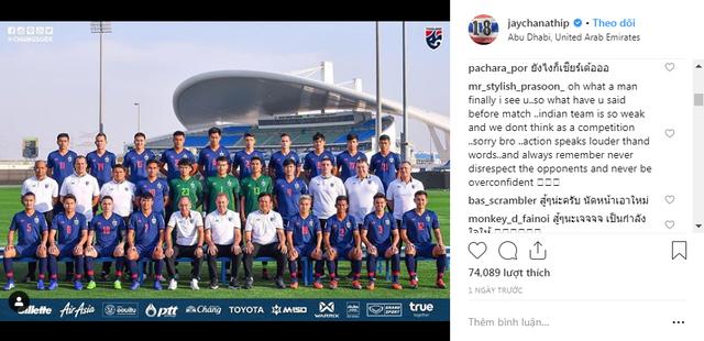 Niềm tự hào của bóng đá Thái Lan Chanathip Songkrasin bị CĐV nhà quay lưng, chỉ trích thậm tệ sau trận mở màn Asian Cup 2019 - Ảnh 1.