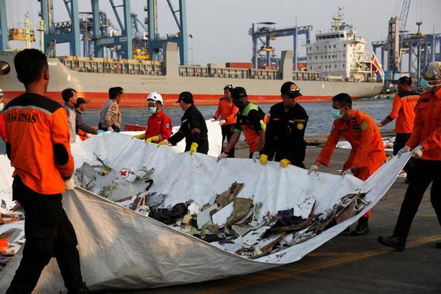 Indonesisa khôi phục tìm kiếm hộp đen máy bay chở 189 người gặp nạn - Ảnh 1.