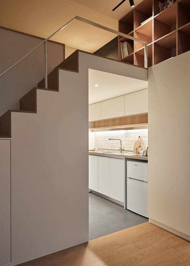 Căn hộ 22 m2 đầy đủ tiện ích với thiết kế siêu thông minh - Ảnh 9.