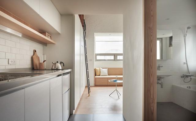 Căn hộ 22 m2 đầy đủ tiện ích với thiết kế siêu thông minh - Ảnh 10.
