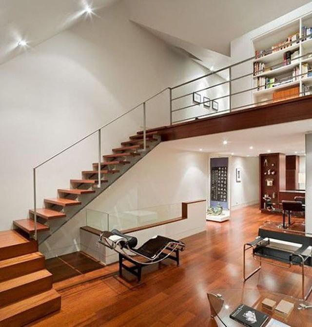 Mẫu nhà phố 1 trệt 1 lửng 1 lầu tuyệt đẹp, kinh phí thấp - Ảnh 2.