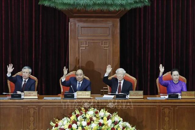 Chủ tịch QH Nguyễn Thị Kim Ngân điều hành phiên họp Hội nghị Trung ương 11  - Ảnh 1.
