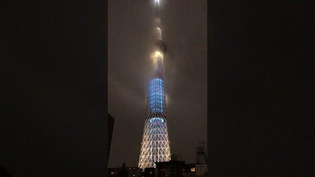 Giữa biển nước mênh mông và sự tàn phá dữ dội của bão Hagibis, có một nơi duy nhất ở Tokyo vẫn đứng sừng sững hiên ngang - Ảnh 3.