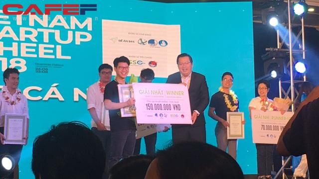 Quán quân Vietnam Startup Wheel 2018: Học dốt và sợ tiếng Anh lại giành giải nhất cuộc thi startup viết phần mềm học tiếng Anh, tư duy mạo hiểm phải có kế hoạch chứ không đâm đầu vào tường - Ảnh 1.