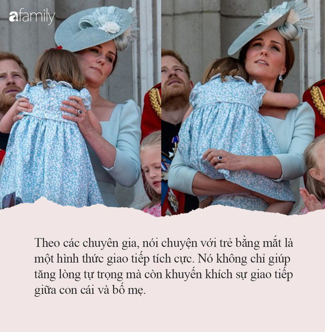 Nếu con thường ăn vạ nơi công cộng, hãy tham khảo ngay cách xử lý của công nương Kate Middleton, con ngoan ngoãn, nín khóc ngay lập tức - Ảnh 2.