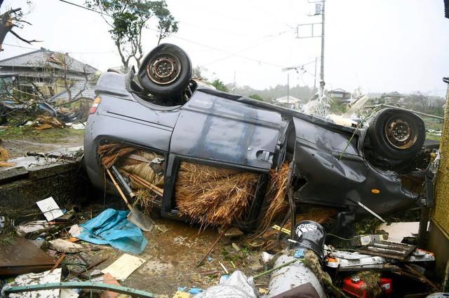 Hình ảnh bão Hagibis tàn phá Nhật trước khi quay ra biển TBD - Ảnh 8.