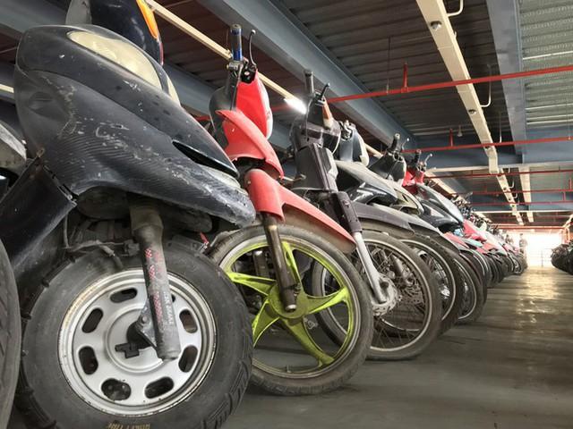Hàng trăm xe máy nằm vạ nhiều năm ở sân bay Tân Sơn Nhất - Ảnh 11.