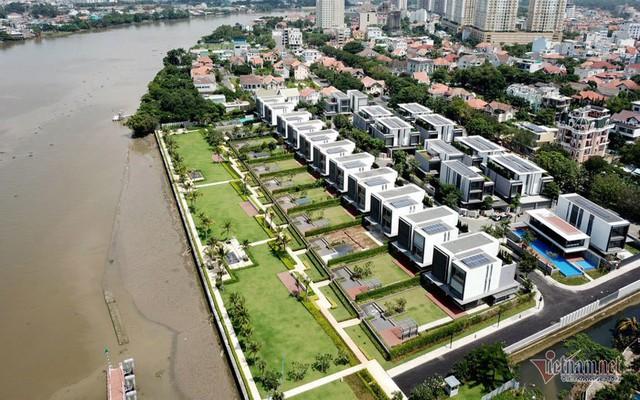 Bất chấp kẹt xe, ngập nước, khu nhà giàu Thảo Điền vẫn ken đặc dự án BĐS - Ảnh 14.