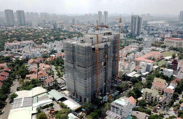 Bất chấp kẹt xe, ngập nước, khu nhà giàu Thảo Điền vẫn ken đặc dự án BĐS - Ảnh 9.
