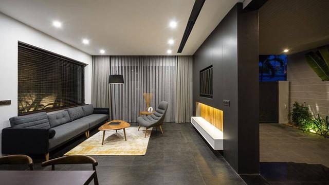 Kiểu biệt thự 3 tầng mới lạ có vẻ đẹp thôi miên - Ảnh 2.