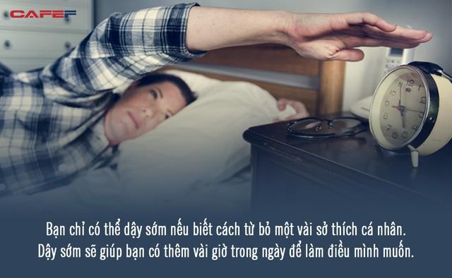 Học tập nhà văn Haruki Murakami trong 3 tháng, tôi đã lĩnh hội được bí quyết dậy sớm đều đặn lúc 5h sáng chẳng cần báo thức: Không khó nhưng cần kiên trì! - Ảnh 3.