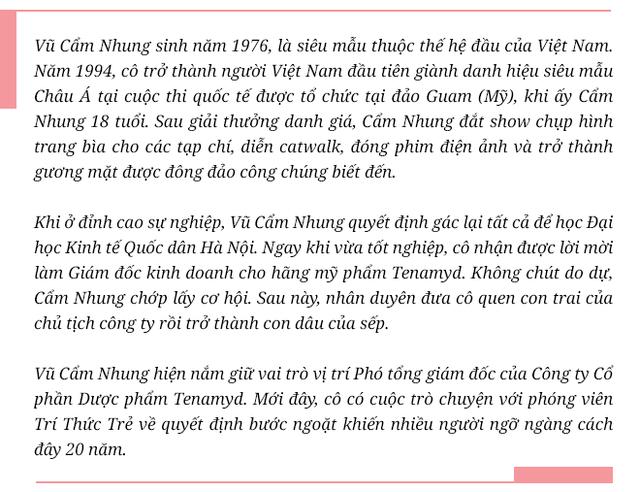 Siêu mẫu quốc tế đầu tiên của Việt Nam: Lương 500 USD/tháng là đỉnh cao năm 1998 cho sinh viên mới ra trường nhưng không phải lý do khiến tôi bỏ sàn catwalk - Ảnh 1.