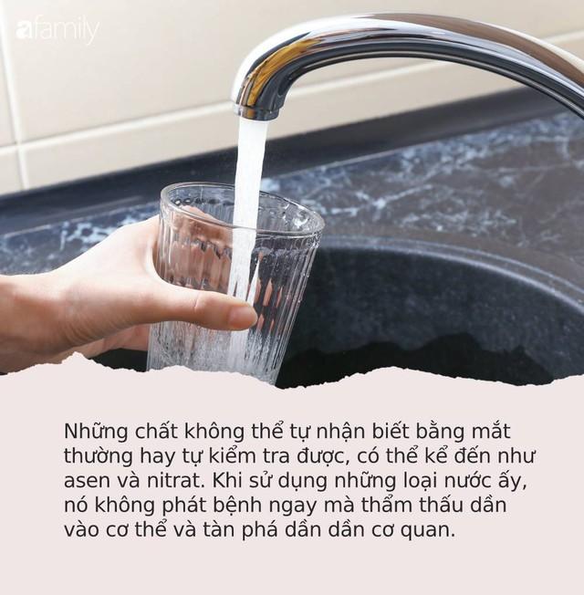 Từ vụ nước sạch ở Hà Nội nhiễm bẩn: Hãy nhìn những dấu hiệu này của nước để tự đánh giá xem nguồn nước nhà bạn an toàn hay không - Ảnh 4.