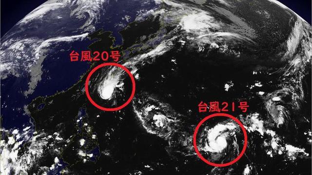 Hai cơn bão mới đang tiến tới Nhật  - Ảnh 1.