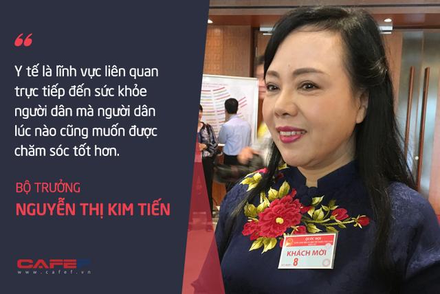 Bộ trưởng Nguyễn Thị Kim Tiến: Tôi chả dám chấm điểm cho mình!  - Ảnh 1.
