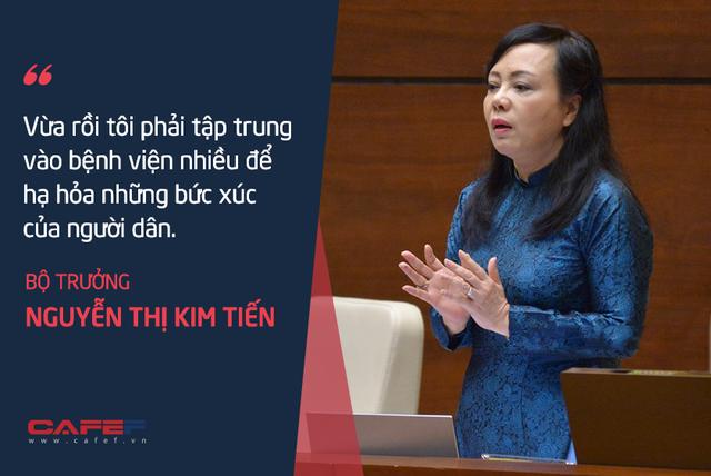 Bộ trưởng Nguyễn Thị Kim Tiến: Tôi chả dám chấm điểm cho mình!  - Ảnh 2.
