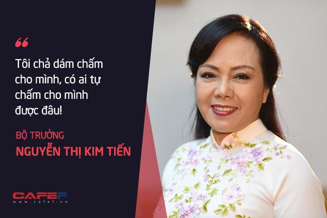 Bộ trưởng Nguyễn Thị Kim Tiến: Tôi chả dám chấm điểm cho mình!  - Ảnh 4.