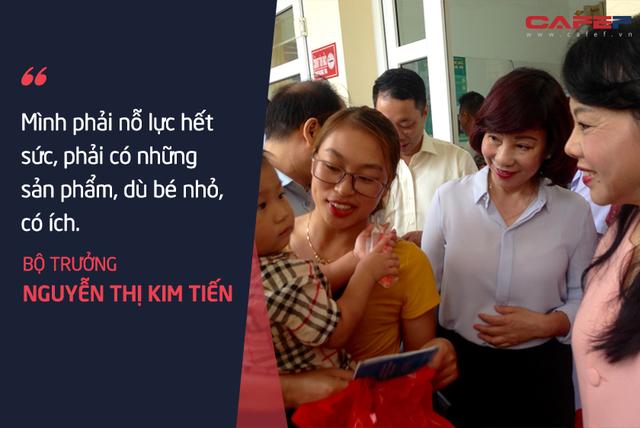 Bộ trưởng Nguyễn Thị Kim Tiến: Tôi chả dám chấm điểm cho mình!  - Ảnh 7.