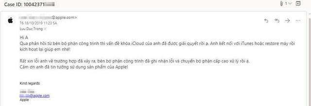 Apple mở khoá iCloud miễn phí cho nạn nhân của website khoá iCloud từ xa - Ảnh 3.