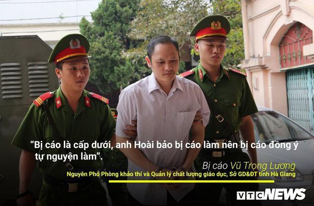 Infographic: Những phát ngôn dậy sóng dư luận trong phiên xử vụ án nâng điểm thi ở Hà Giang - Ảnh 6.