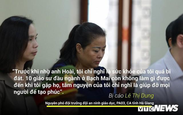 Infographic: Những phát ngôn dậy sóng dư luận trong phiên xử vụ án nâng điểm thi ở Hà Giang - Ảnh 7.