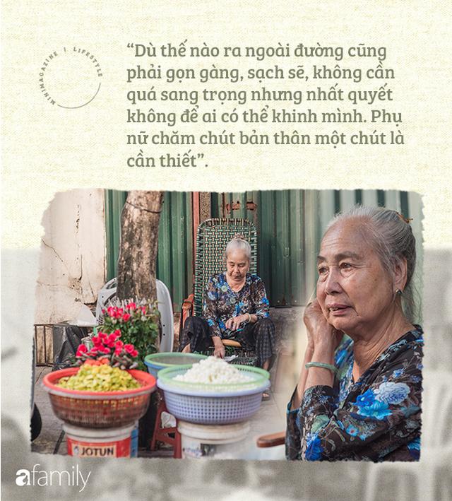 Triết lý sung sướng phụ nữ hiện đại nào cũng phải học từ cụ bà 81 tuổi bán hoa thơm 70 năm ở góc chợ Đồng Xuân - Ảnh 13.
