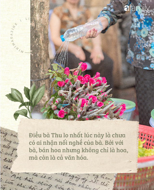 Triết lý sung sướng phụ nữ hiện đại nào cũng phải học từ cụ bà 81 tuổi bán hoa thơm 70 năm ở góc chợ Đồng Xuân - Ảnh 21.
