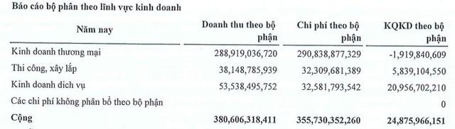 Everland (EVG): Chi phí giá vốn tăng cao, LNST 9 tháng giảm sâu 45% so với cùng kỳ - Ảnh 2.