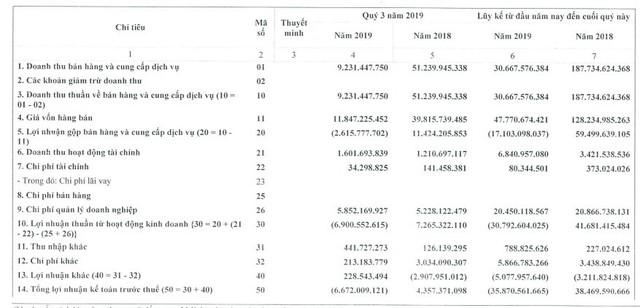 PV Coating (PVB) lỗ thêm 6,6 tỷ đồng trong quý 3, nâng tổng lỗ 9 tháng đầu năm lên 39 tỷ đồng - Ảnh 1.