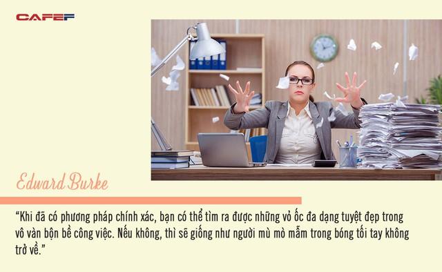 Chẳng thể thành công dù bận rộn 8 tiếng/ngày, bạn đang bán chất xám vô ích: Để làm nhân viên ưu tú, trước hết phải học được điều này! - Ảnh 2.