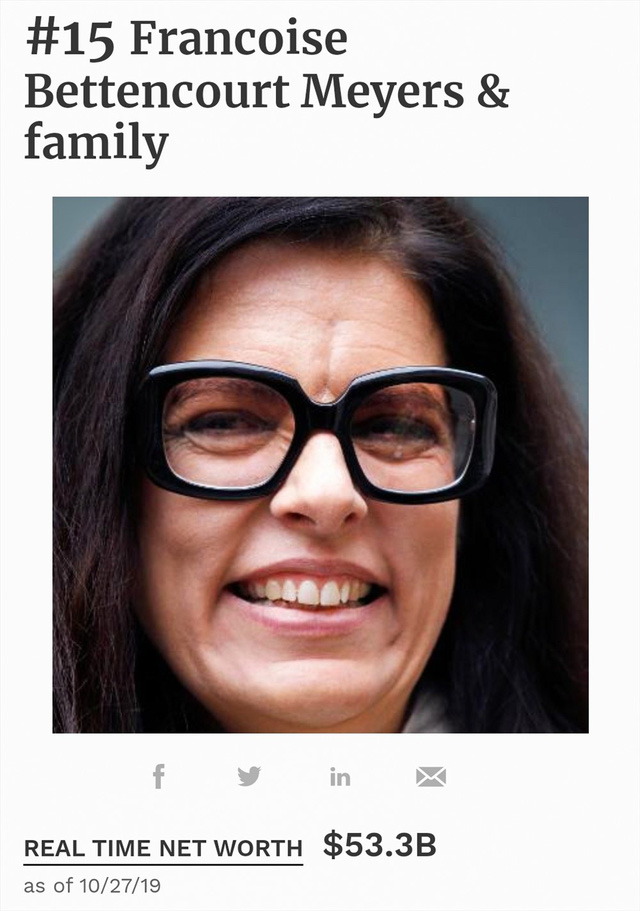 Gia thế khủng của nữ tỉ phú duy nhất trong top 15 người giàu nhất hành tinh - Ảnh 4.