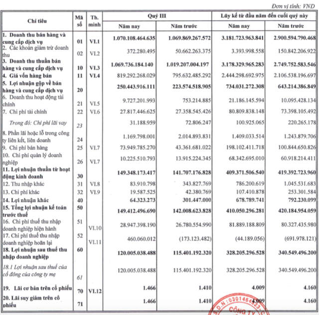 Nhựa Bình Minh giảm lãi trước thuế 9 tháng về 410 tỷ đồng, thực hiện 76% chỉ tiêu - Ảnh 1.