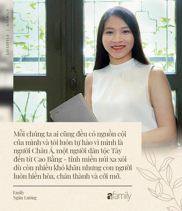 Emily Ngân Lương - Cô gái người Tày đỗ Tiến sĩ tại ĐH Birmingham của Anh ở tuổi vừa ngoài 30, được công nhận là một trong số ít công dân toàn cầu - Ảnh 7.
