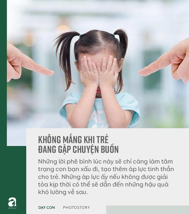 """Đừng bỏ qua quan điểm """"5 không trách, 6 không mắng"""" khi con phạm lỗi, đây mới là bí quyết bố mẹ dạy con khéo - Ảnh 9."""