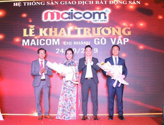 Hệ thống sàn giao dịch bất động sản Maicom Vietnam khai trương chi nhánh Maicom Gò Vấp - Ảnh 1.
