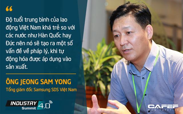 Tổng giám đốc Samsung SDS Việt Nam: Tiềm năng trở thành công xưởng thế giới của Việt Nam là một lợi thế trong tiến trình chuyển đổi số - Ảnh 1.