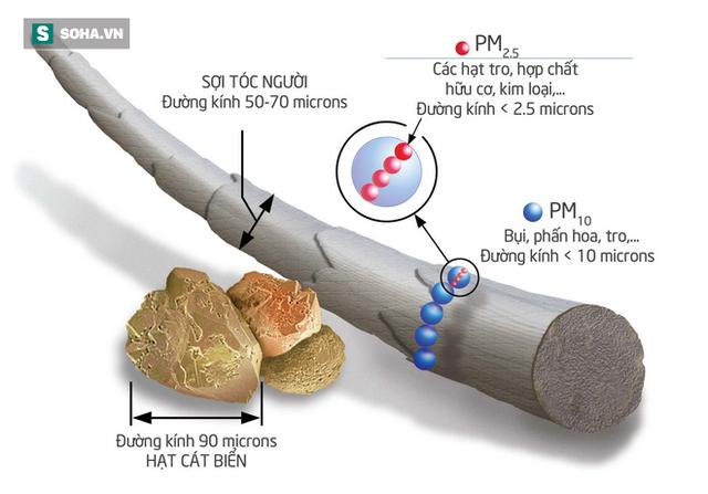 Ô nhiễm không khí nặng: Viện Quốc gia Sức khỏe & An toàn Nghề nghiệp Mỹ khuyên dùng loại khẩu trang nào? - Ảnh 1.