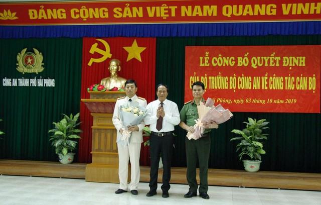 Giám đốc Công an tỉnh Hải Dương làm Giám đốc Công an TP Hải Phòng và ngược lại - Ảnh 1.