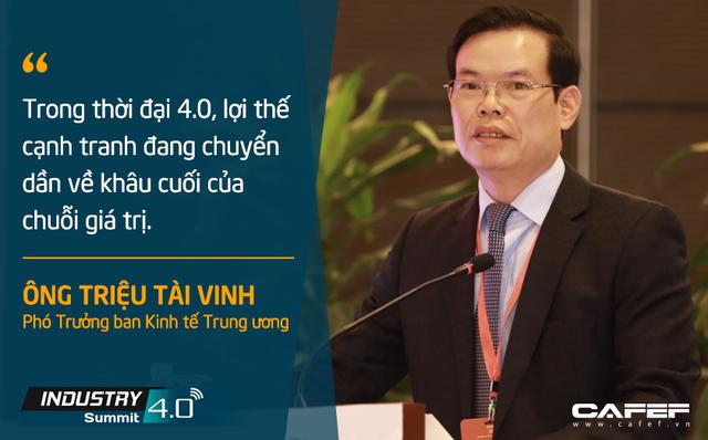 Phó Trưởng Ban Kinh tế Trung Ương Triệu Tài Vinh: 4.0 không chỉ là cách mạng công nghệ mà quan trọng hơn là cách mạng về thể chế - Ảnh 3.