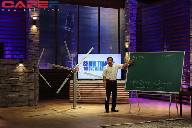Ý tưởng mới ở trên giấy, nhà khoa học tuabin gió đã chào bán công ty với giá 120 triệu USD, nhưng ngạc nhiên nhất là kiến thức Toán Lý của shark Hưng - Ảnh 1.