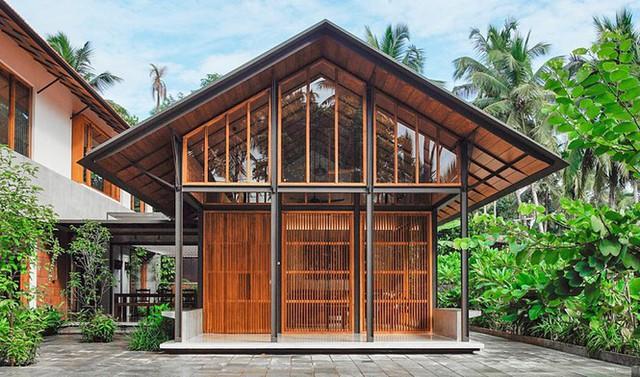 Mẫu nhà cấp 4 tuyệt đẹp thoáng và rộng như resort - Ảnh 1.