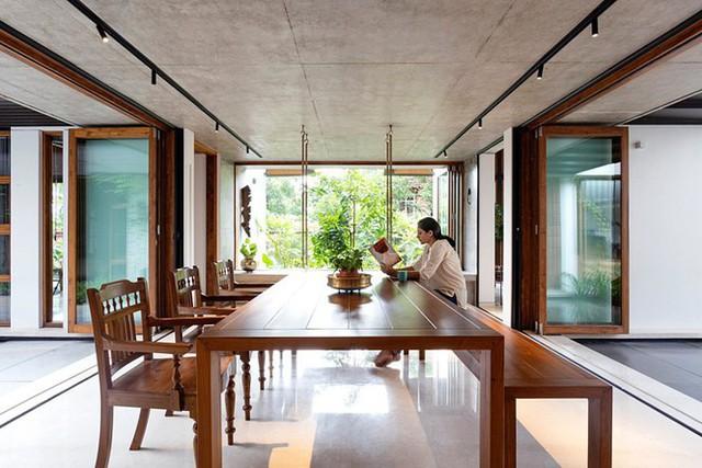 Mẫu nhà cấp 4 tuyệt đẹp thoáng và rộng như resort - Ảnh 2.