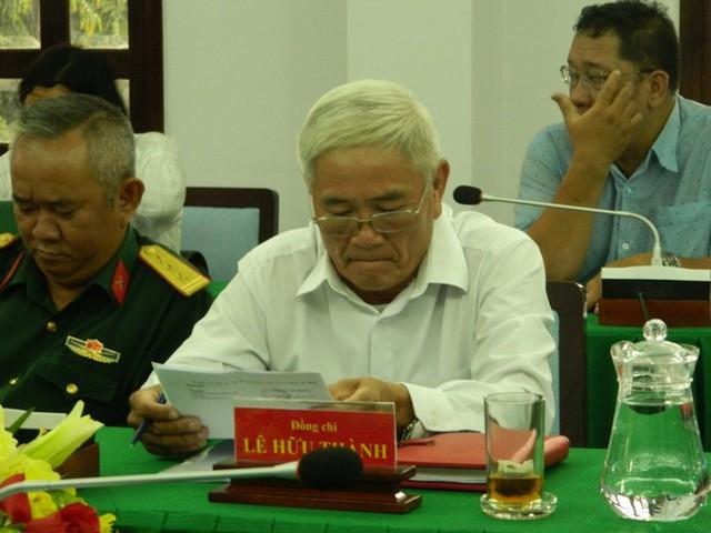 Phó Chủ tịch HĐND quận Thủ Đức Lê Hữu Thành xin thôi chức - Ảnh 1.
