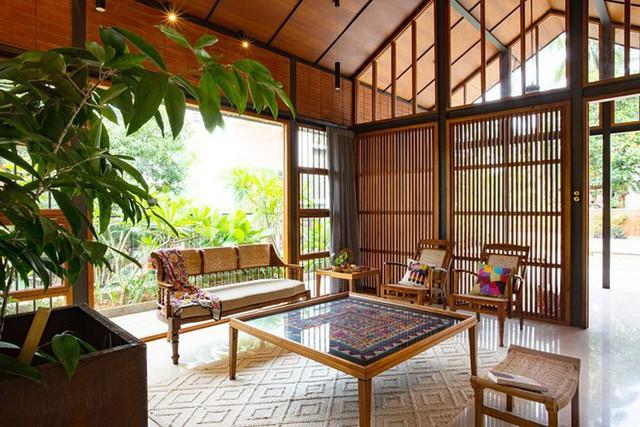 Mẫu nhà cấp 4 tuyệt đẹp thoáng và rộng như resort - Ảnh 3.