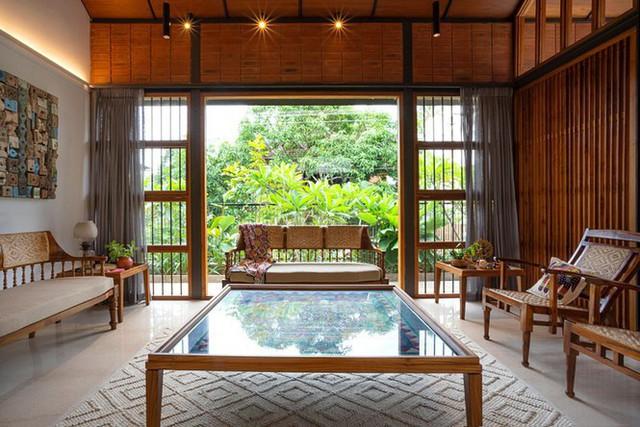 Mẫu nhà cấp 4 tuyệt đẹp thoáng và rộng như resort - Ảnh 4.