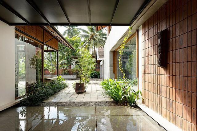 Mẫu nhà cấp 4 tuyệt đẹp thoáng và rộng như resort - Ảnh 5.