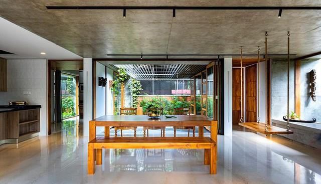 Mẫu nhà cấp 4 tuyệt đẹp thoáng và rộng như resort - Ảnh 8.